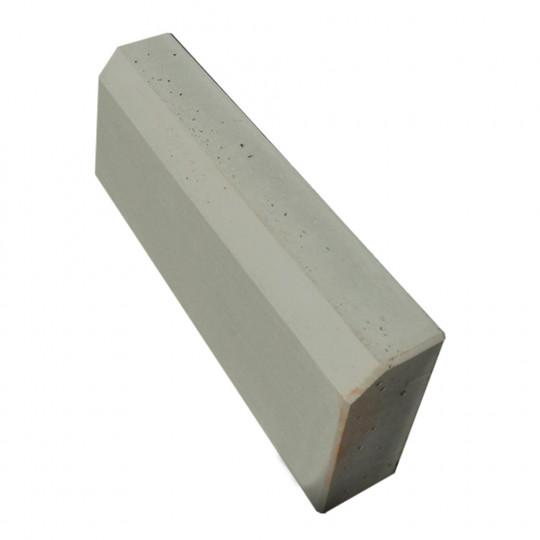 Бордюр тротуарный серый 500x200x45