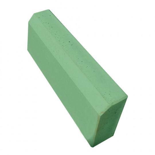 Бордюр тротуарный зеленый 500x210x70