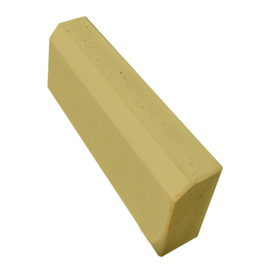 Бордюр тротуарный желтый 500x210x70