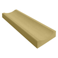 Желоб водосточный желтый 360x160x60